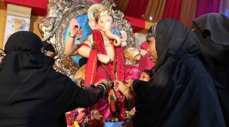 When people of various faiths celebrated Bakrid and Ganesh Chaturthitogether