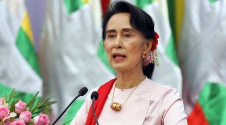Suu Kyi says outside hate narratives driving Myanmar tension
