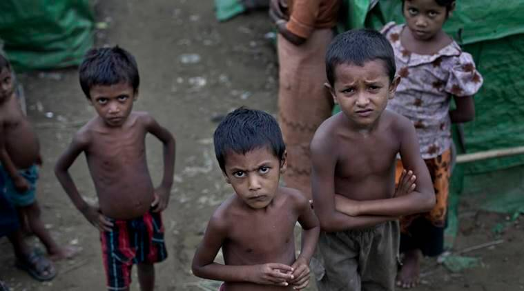 rohingya muslims news, kiren rijeju news, india news, indian express news