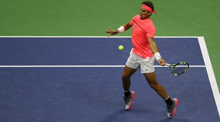 Us Open 2017 Rafael Nadal Survives Early Wobble To Book Last 16 Spot Sports News The Indian Express