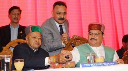Himachal topi leaves Chief Minister Virbhadra Singh fuming at function
