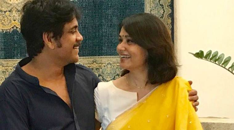 nagarjuna akkineni, samantha ruth prabhu, nagarjuna akkineni amala akkineni, nagarjuna amala, amala birthday, actor amala birthday, amala birthday party, nagarjuna birthday party, samantha ruth prabhu naga chaitanya, naga chaitanya wedding, nagarjuna samantha ruth prabhu