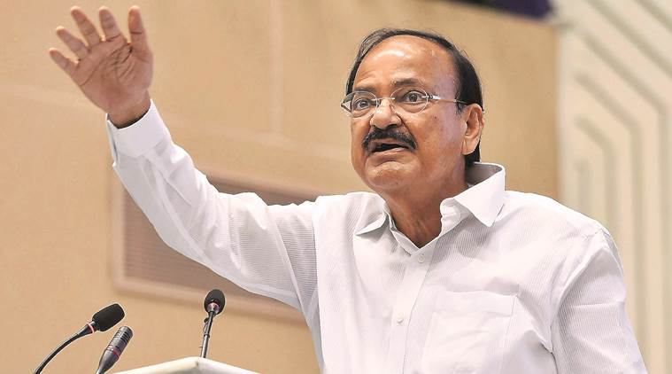 Venkaiah Naidu, Naidu on farmers, farmer woes in India, famine, farmer subsidies, farming in India, farmer protests, bank loan, farm loan waoiver, India Newsm Indian Express