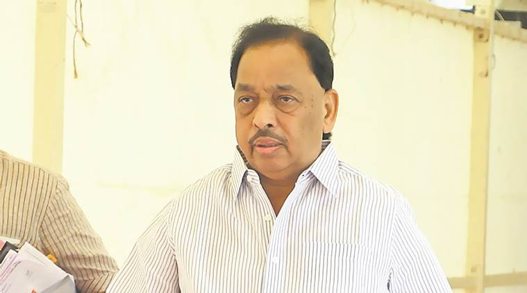 Rane's younger son Nitesh, the sitting MLA from Kankavli seat, is seeking re-election on the BJP ticket.