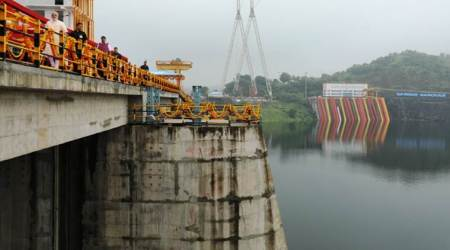 Water level in Narmada dam rises to 108.5 metres