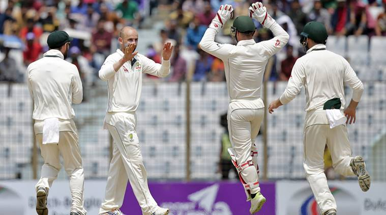 Bangladesh vs Australia, Nathan Lyon, David Warner, Glenn Maxwell, Steve Smith, Mushfiqur Rahim, sports news, cricket, Indian Express