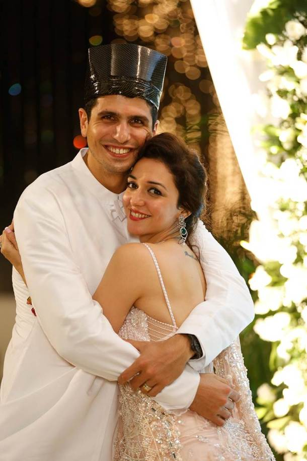 Nauheed Cyrusi, tv wedding, tv celebs wedding, tv celebs wedding photos,