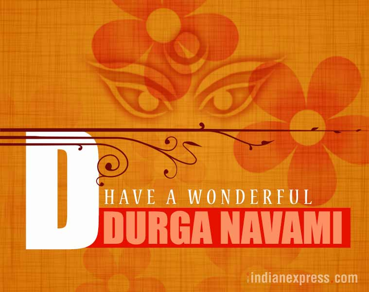 durga puja, navratri, maha ashtami, durga puja images, durga puja wishes, durga puja wallpapers, durga puja quotes, durga puja greetings, durga puja messages, durga puja sms, indian express, indian express news