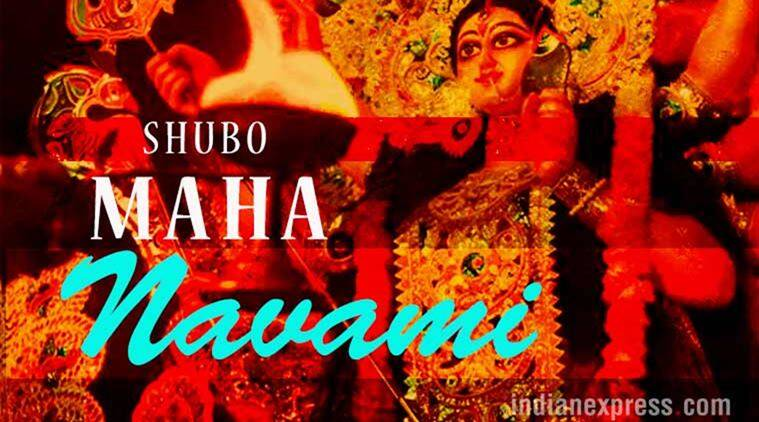 Happy durga navami 2017 facebook and whatsapp messages status hd durga puja navratri maha ashtami durga puja images durga puja wishes m4hsunfo