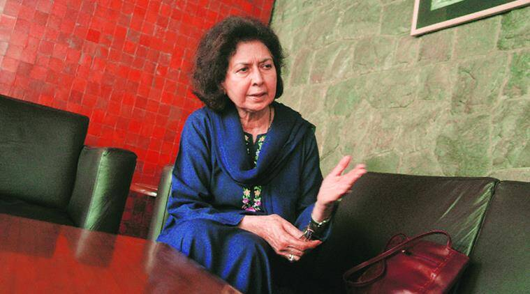 Nayantara Sahgal, When the Moon Shines by Day, Nayantara Sahgal novel, books, Speaking Tiger, novel, author interview, indian express, indian express news