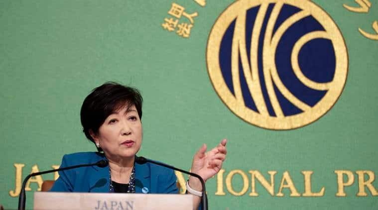 Tokyo Governor Yuriko Koike, Prime Minister Shinzo Abe, Liberal Democratic Party, Tokyo news, world news, Indian Express news