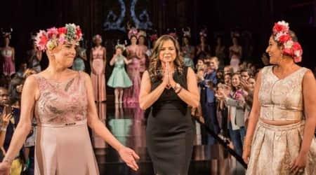 New York Fashion Week: Breast cancer survivors turn showstopper for Indiandesigner