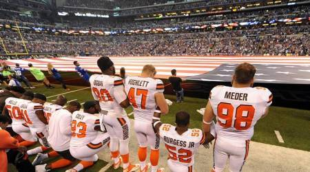 Why players are kneeling in NFL, MLB matches?