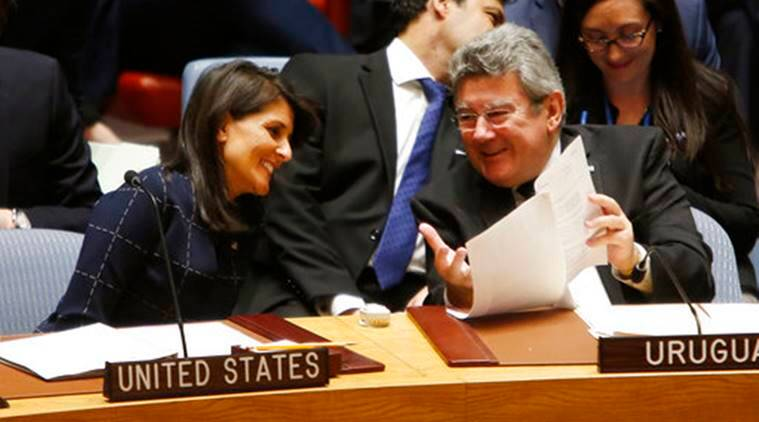 UN Security Council, UNSC, North Korea, North Korea Nuclear Test, UNSC Sanction North Korea, Nikki Haley, World News, Latest World News, Indian Express, Indian Express News