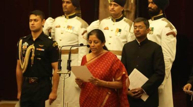 Nirmala Sitharaman, Defence Minister Sitharaman, new defence minister, cabinet reshuffle 2017, modi cabinet, defence ministry, defence minsiters of india, indian express