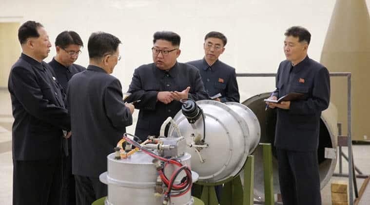 North Korea nuclear test, hydrogen bomb, Kim Jong-un, nuclear war, Pyongyang, north korea ballistic missile test, donald trump, world news, indian express
