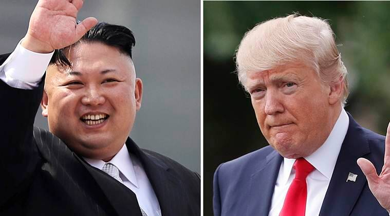 north korea, donald trump, kim jong un, us korea war, south north korea talks, winter olympics, world news, indian express