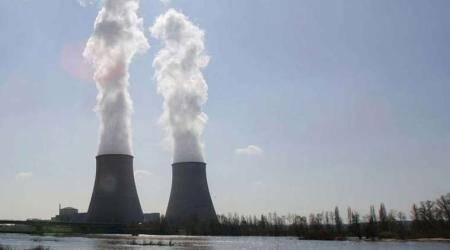 Greenpeace activists stage protest at EDF nuclear power site inFrance
