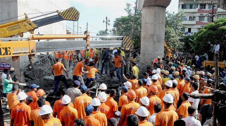 Odisha police to file FIR in Bomikhal flyover collapse