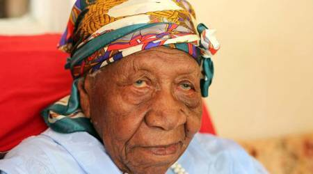 world's oldest person, world's oldest female, guinness world record for worlds oldest, queen victoria, Jamaica, violet brown, super centenarian, latest news, world news, indian express