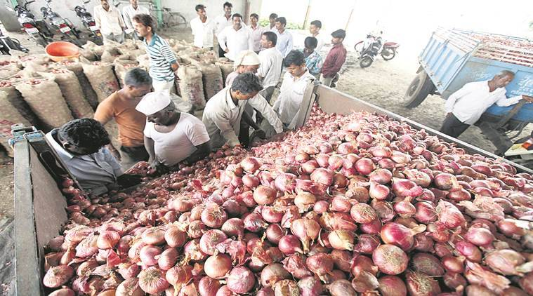 Maharashtra onion supply, maharashtra onion prices, onion supply, onion prices, wholesale onion prices, Nashik onion prices, Nashik onion supply, Maharashtra news, Indian Express news