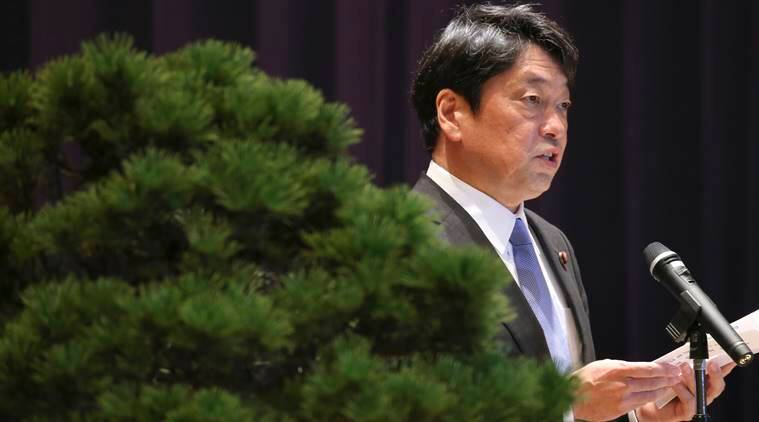 Japan: North Korea threat to sink Japan is 'outrageous'