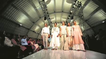 Delhi's latest fashion show, with designs fromTihar