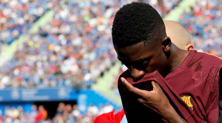 Ousmane Dembele, Ousmane Dembele Barcelona, Ousmane Dembele injury, Ousmane Dembele surgery, sports news, football, Indian Express