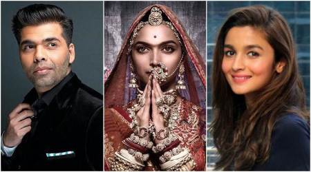 Padmavati: Karan Johar and Alia Bhatt are in awe of Deepika Padukone's regal look, see tweets