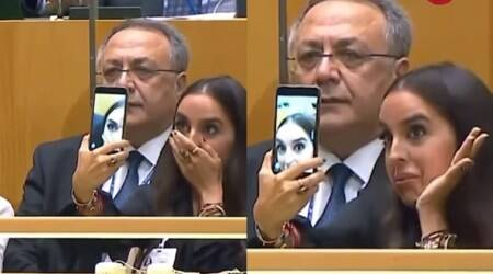 VIDEO: Azerbaijan President's daughter's selfie fever takes social media by storm