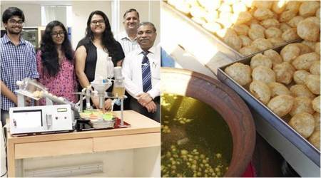 Gol Gappa lovers, rejoice! Manipal University students create Paani Puri vending machine