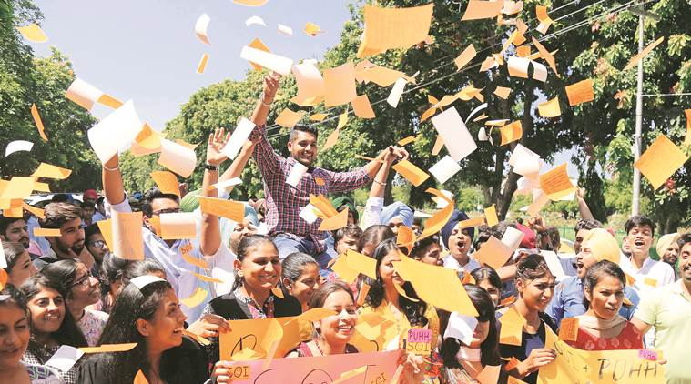 panjab university news, elections news, education news, indian express news