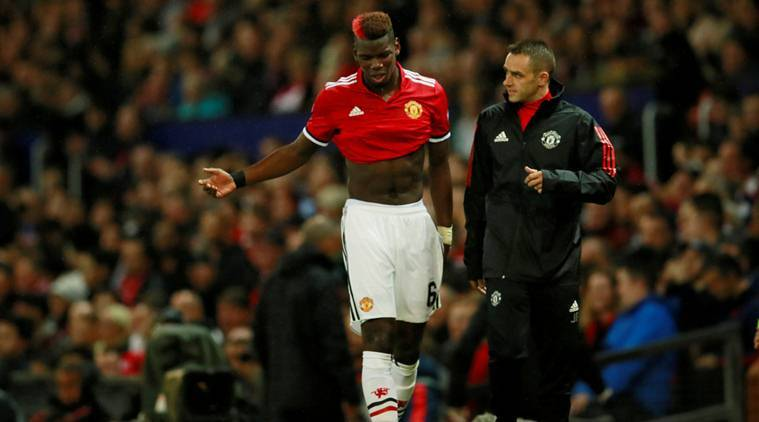 Paul Pogba, Pogba, Manchester united, Jose Mourinho, Mourinho, Champions League, Football news, Football, Indian Express