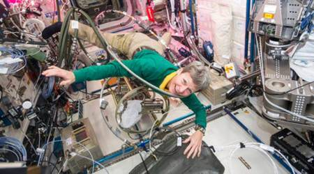 Record-breaking astronaut Peggy Whitson set to return toEarth