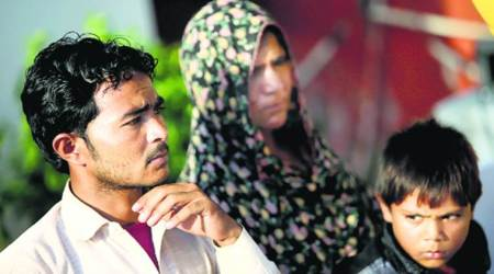 Pehlu Khan's family has found no justice, his community is still under siege. Express photo by praveen khanna