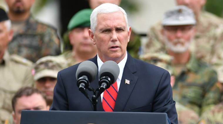 Pence says Trump 'actively considering' United States embassy move to Jerusalem