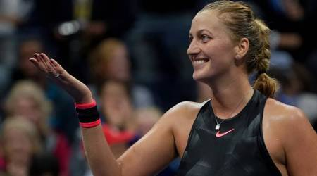 Petra Kvitova knocks out Caroline Wozniacki to set up Qatar Open final with Garbine Muguruza