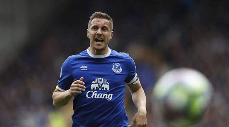 Phil Jagielka, Michael Keane, Everton, Europa League, Everton vs Apollon Limassol, Football news, Indian Express