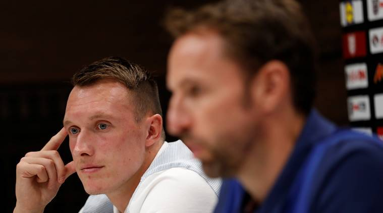 gareth southgate, manchester united, phil jones, england,