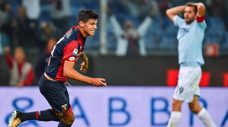 Pietro Pellegri, genoa, serie a, football, sports news, indian express