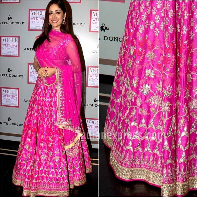 aishwarya rai bachchan, kangana ranaut, yami gautam, navratri 2017, celeb fashion, navratri colours, indian express indian express news