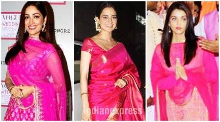 Navratri 2017: 3 ways to wear pink on Ashtami (Day 8)