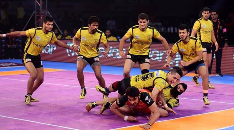 Telugu Titans, Bengaluru Bulls, Pro Kabaddi league, sports news, Indian Express