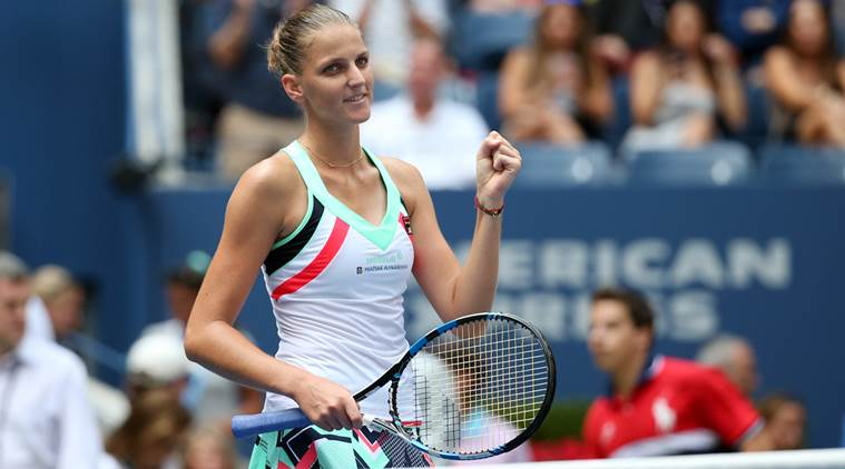 No.1 Pliskova survives Zhang in tight third round match