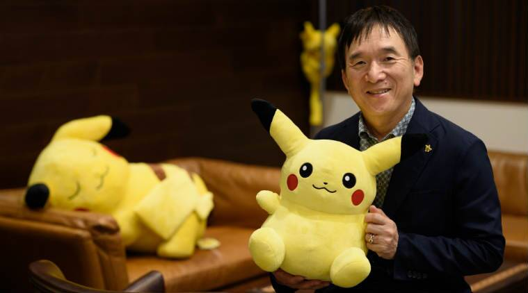 Pokemon, Pokemon Go Niantic, Nintendo, Pokemon AR, Tsunekazu Ishihara, location game, Pikachu, augmented reality, Pokemon CEO, Nintendo switch, Pokemon console game, Pokemon Go earnings, game design, Pokemon possibilities