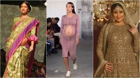 As this pregnant model at NYFW creates waves, here's how others have celebrated motherhood on the ramp