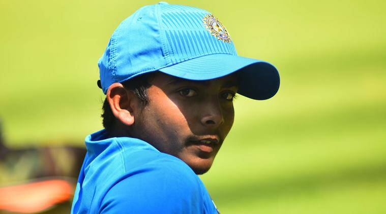 Prithvi Shaw, Under-19 Asia Cup, Ranji Trophy, India national under-19 cricket team