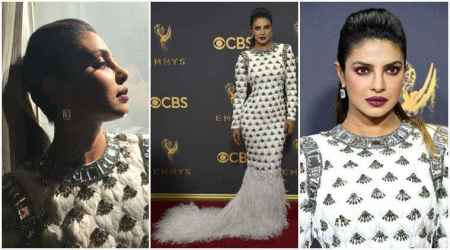 Emmys 2017: Priyanka Chopra looks like a dream while presenting award to John Oliver