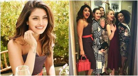 Emmys 2017: Priyanka Chopra is having a fun time with her girl gang at the award ceremony's pre-festivities