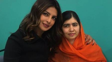 Priyanka Chopra experiences a fan moment as she meets Malala Yousafzai